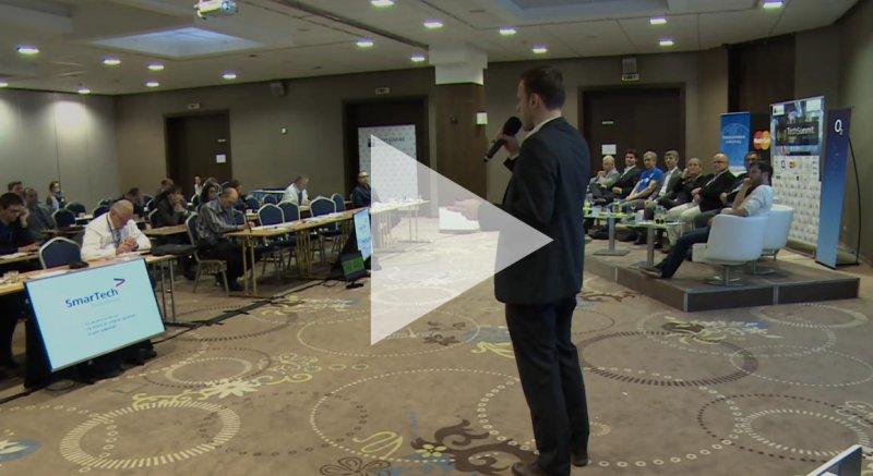 Martin Gondár a SmarTech Solutions na TechSummitu